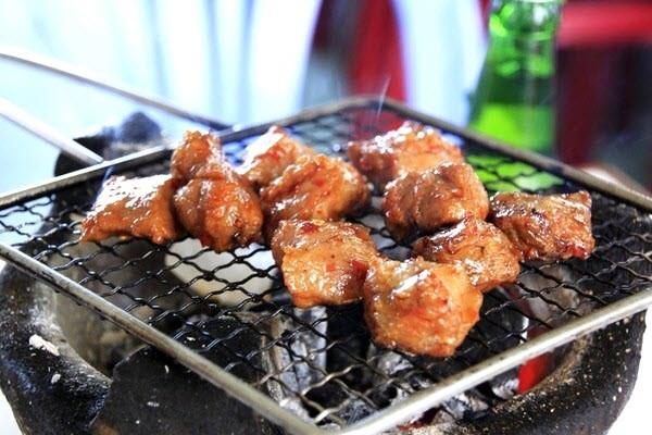 Thơm ngon bò nướng Lạc Cảnh