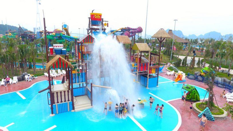 công viên nước Typhoon Water Park Hạ Long
