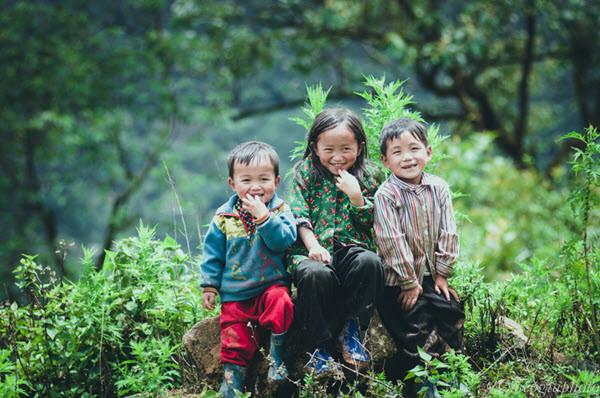 Trẻ em vùng cao Y Tý