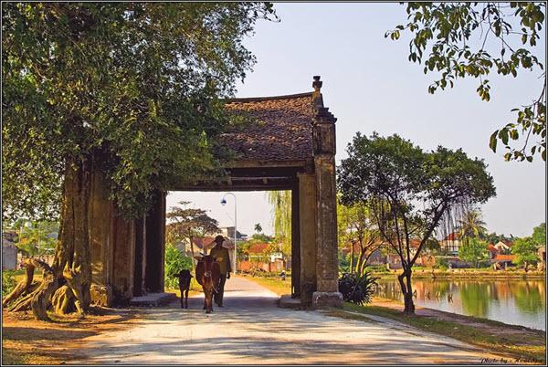 du lịch quanh Hà Nội - làng cổ Đường Lâm