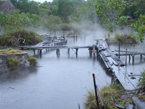 Suối khoáng nóng Kim Bôi - điểm du lịch quanh Hà Nội