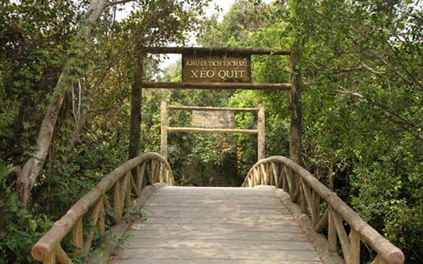 Khu di tích Xẻo Quýt - Điểm du lịch Đồng Tháp