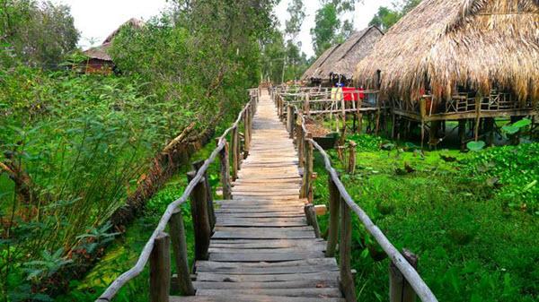 Khu du lịch sinh thái Gáo Giồng - Điểm du lịch Đồng Tháp