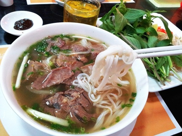 Phở - món ăn không thể thiếu của Hà Nội
